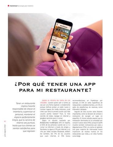 Page 48 of ¿Por qué tener una appa para mi restaurante?
