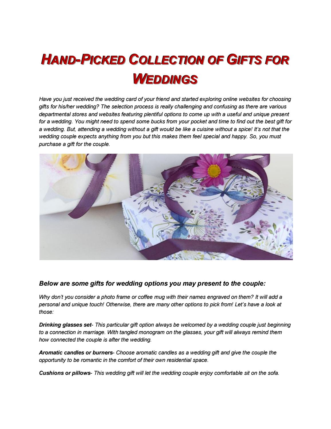 Hand Picked Collection Of Gifts For Wedding Boxes That Sparkle By