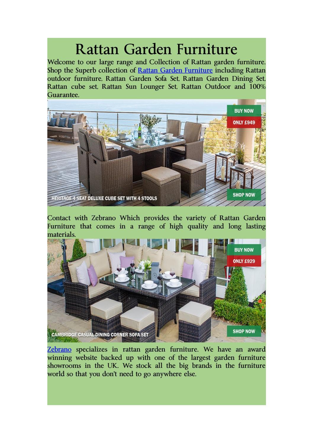 Terrific Rattan Garden Furniture By Zebrano Issuu Theyellowbook Wood Chair Design Ideas Theyellowbookinfo