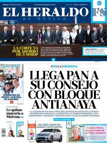 df14d96b93e7c 11 de agosto de 2018 by El Heraldo de México - issuu