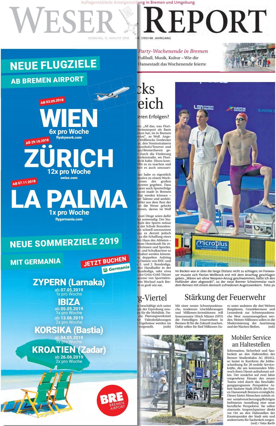 Weser Report - Links der Weser vom 12.08.2018 by KPS ...