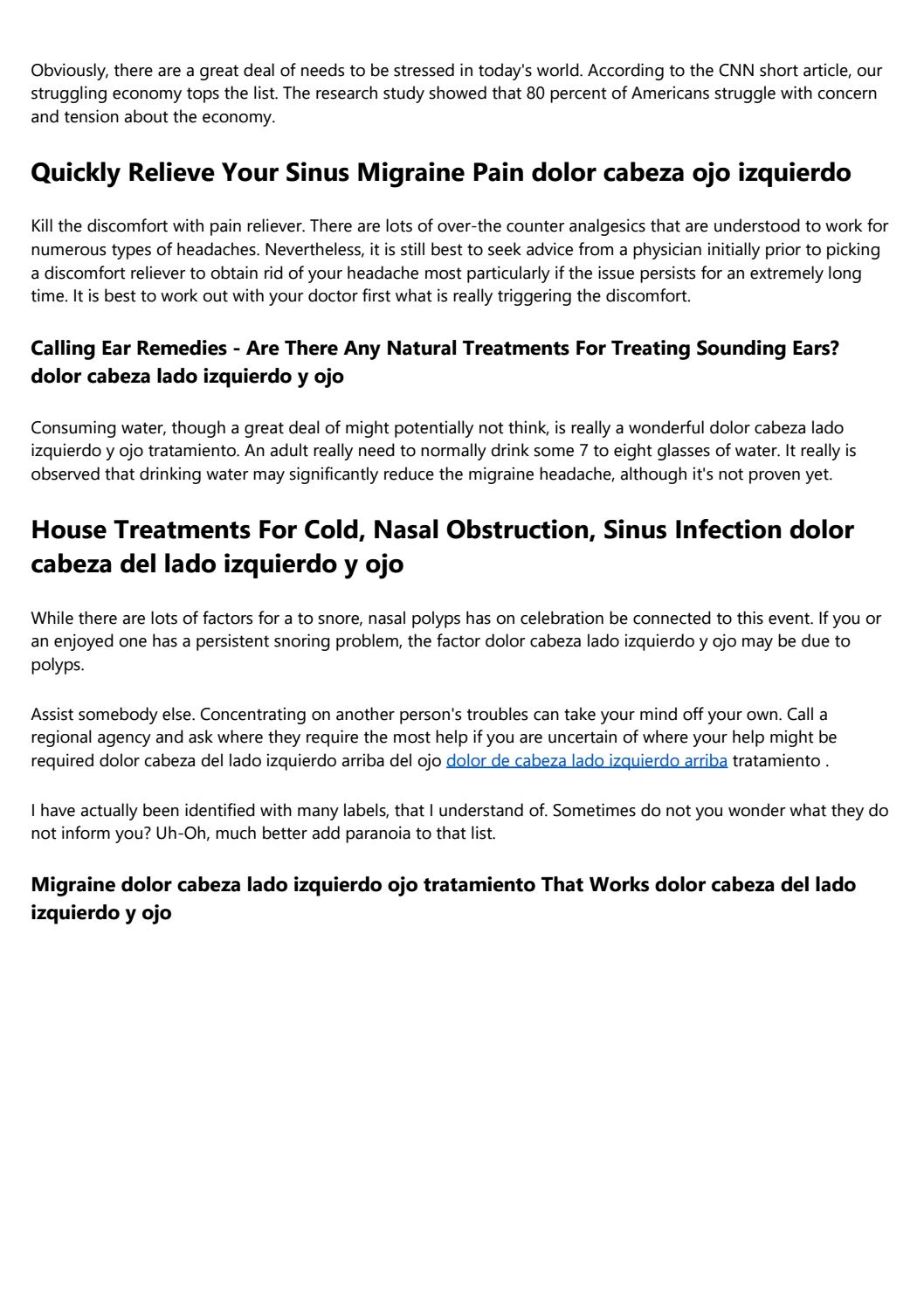 Common Cold - Avoidance And Treatment With House Remedies
