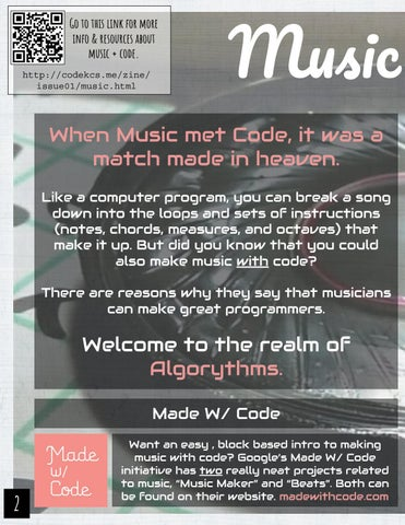Page 4 of Music + Code