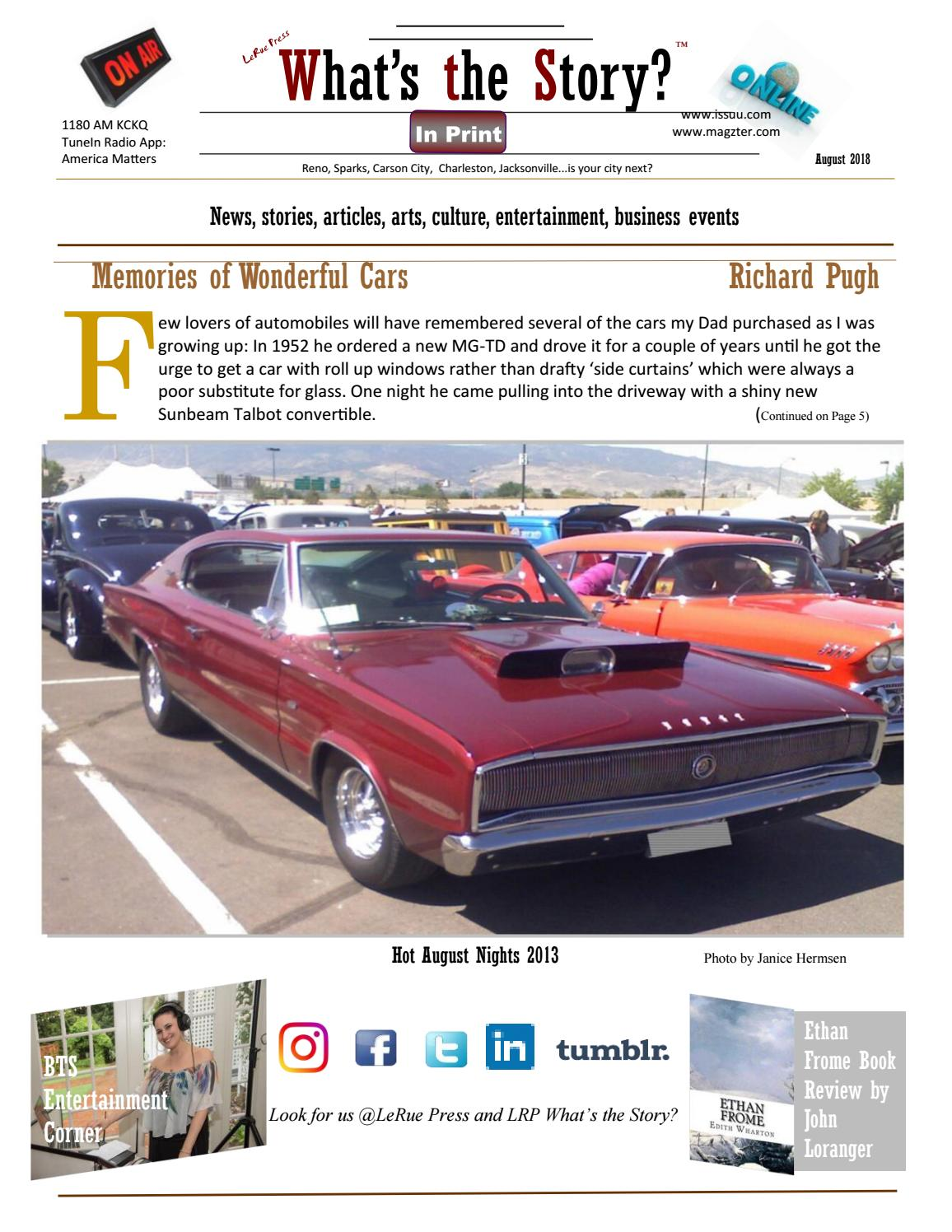 What's the Story? August 2018 by LeRue Press (LRP) - issuu