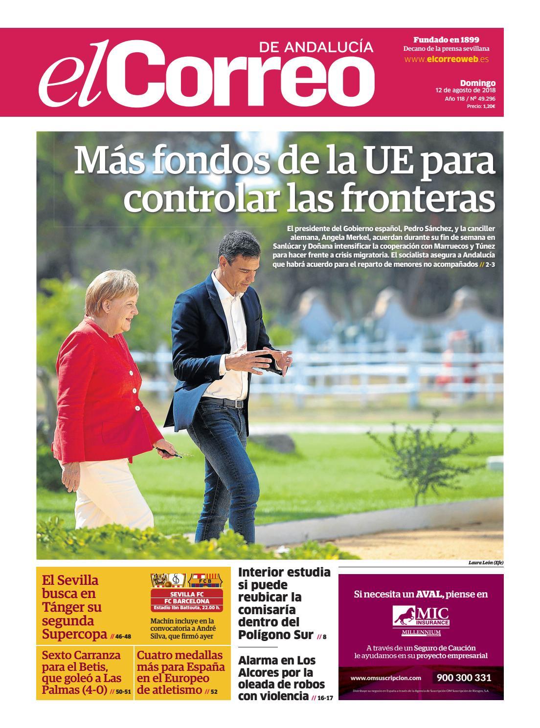 cb958bd6f35 12.08.2018 El Correo de Andalucía by EL CORREO DE ANDALUCÍA S.L. - issuu