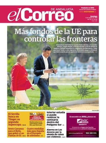 c57ba020012 12.08.2018 El Correo de Andalucía by EL CORREO DE ANDALUCÍA S.L. - issuu