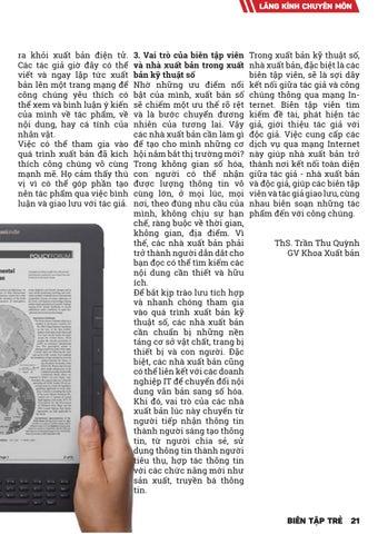 Page 25 of XUẤT BẢN TRONG THỜI ĐẠI 4.0: CƠ HỘI VÀ THÁCH THỨC