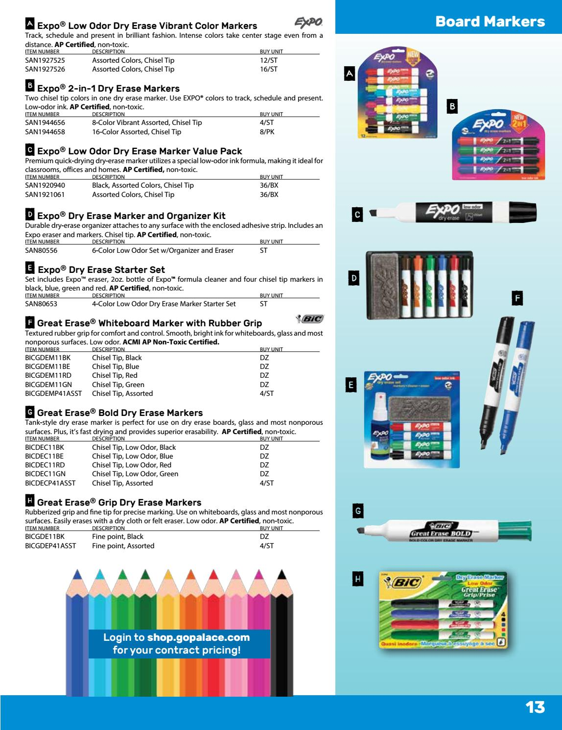 2018 Palace Business Solutions Contract Back to School