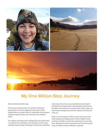 Page 24 of My one-million step journey