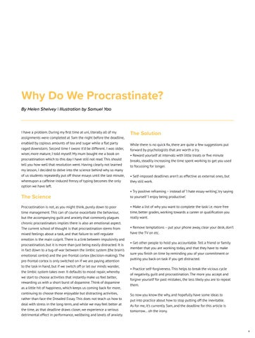 Page 9 of Why do we procrastinate?