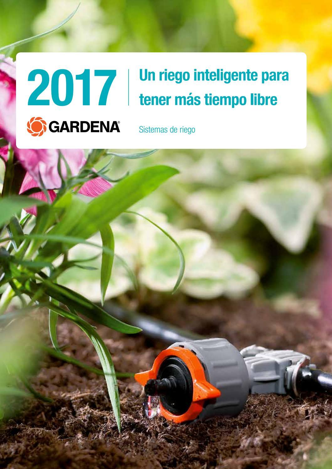 Est/ándar Ideal para 15 Macetas Gardena Set de inicio autom/ático