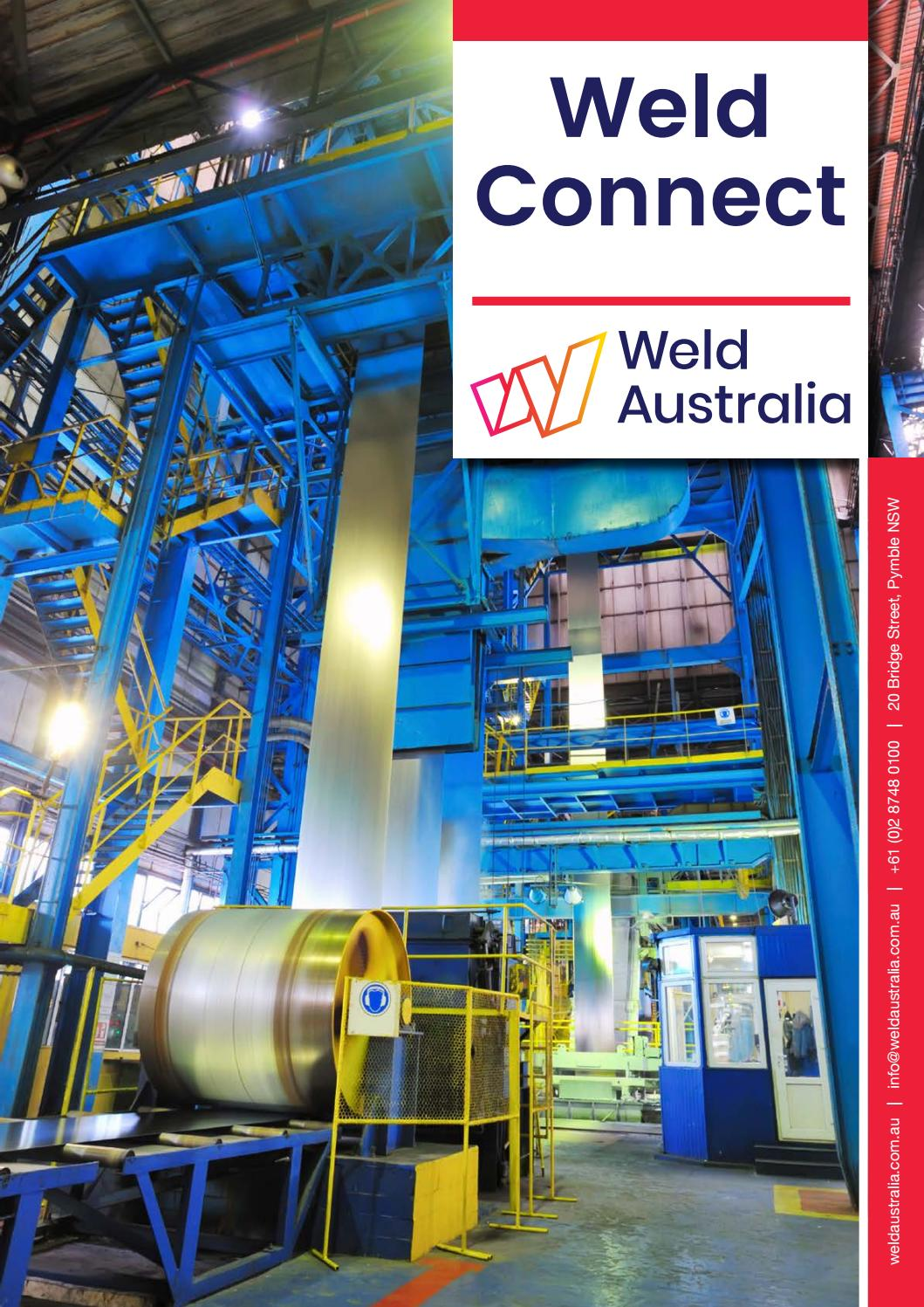 Weld Connect August 2018 by Weld Australia - issuu