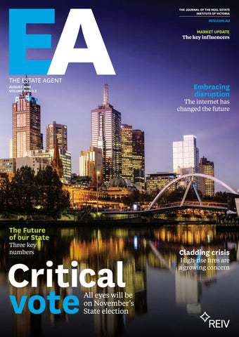 The Estate Agent - August 2018 by Real Estate Institute of