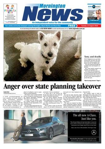 14 August 2018 by Mornington Peninsula News Group - issuu ae86debbe63e