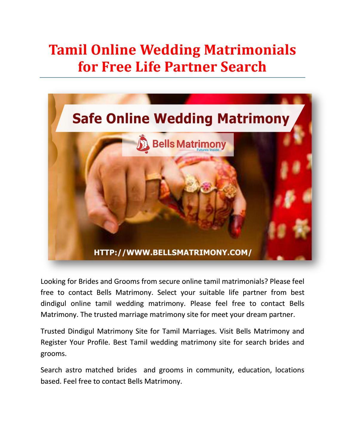 Gratis online matchmaking i Tamil