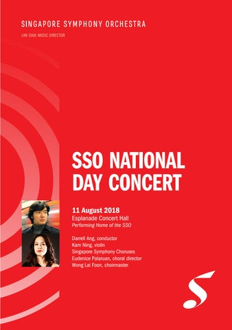 SSO National Day Concert by Singapore Symphony - issuu