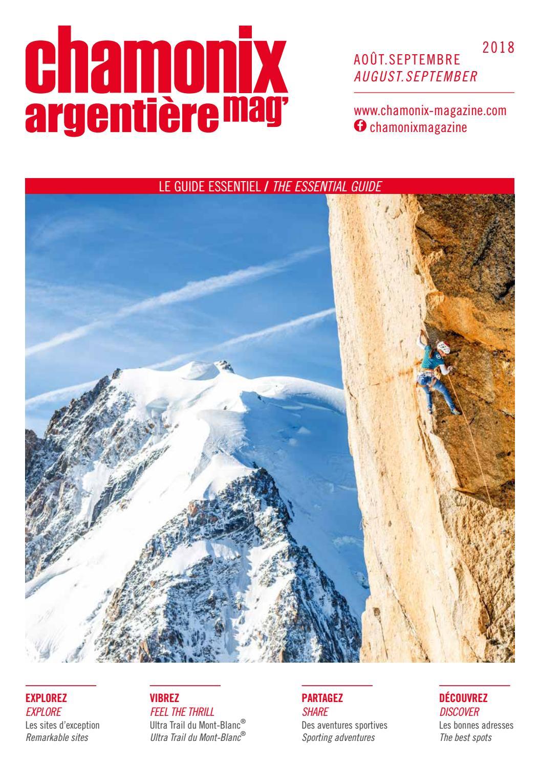 Chamonix magazine   été 2018   Août - Septembre by Édimontagne - issuu f26635c006c