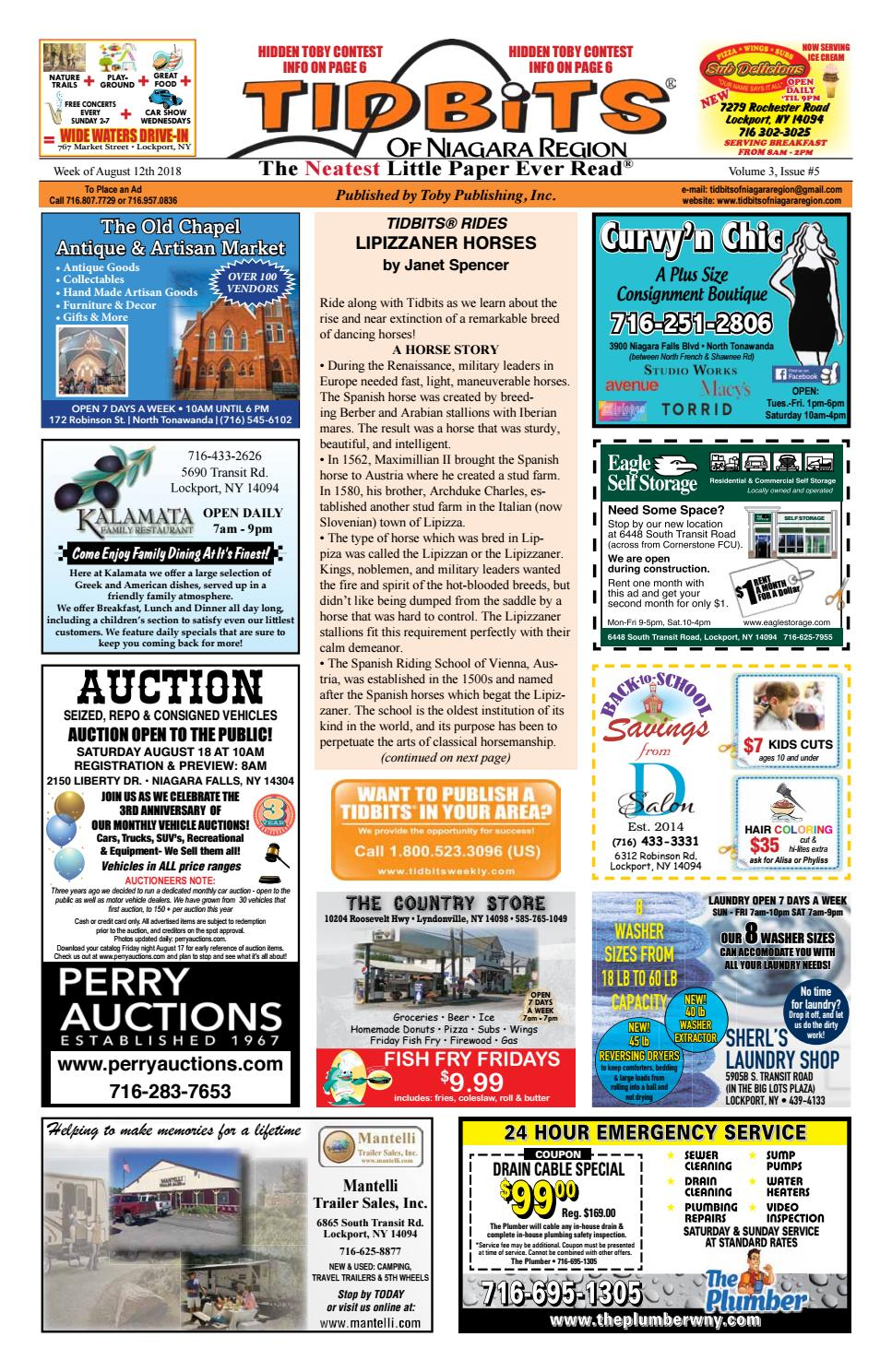 Volume 3, Issue 5 by Tidbits of Niagara Region - issuu