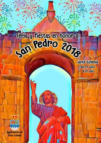 Revista Feria Santa Ana 2018 El Viso By Imprenta Pedro Díaz Issuu