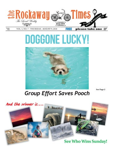 The Rockaway Times Thursday August 9 2018 By Mike Kurov Issuu