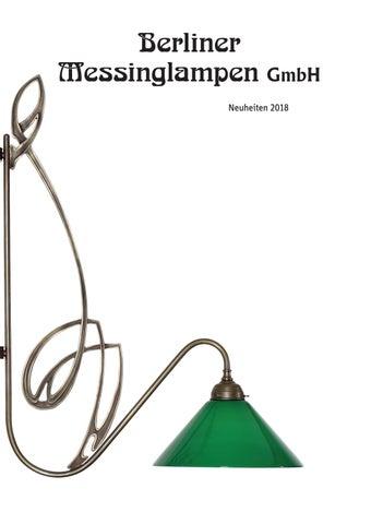 Catalogue Berliner Messing Lampen Neuheiten 2018 By Seishonagon Issuu