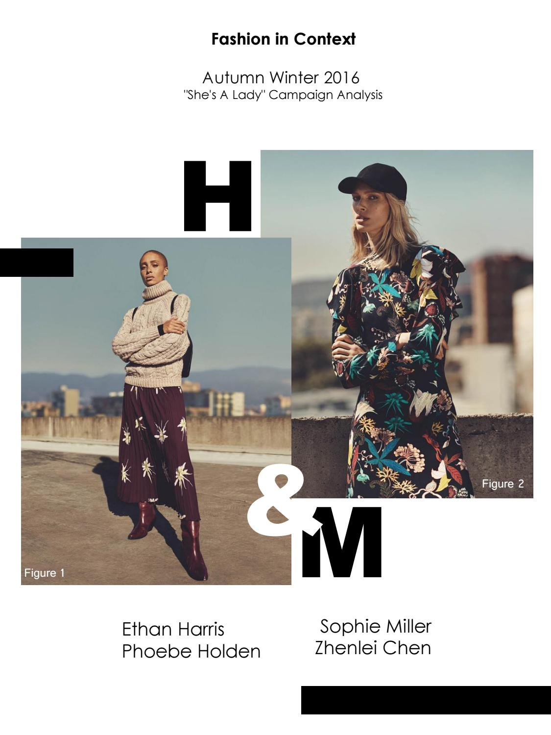 H M She S A Lady Aw16 Campaign Analysis By Phoebe Holden Issuu