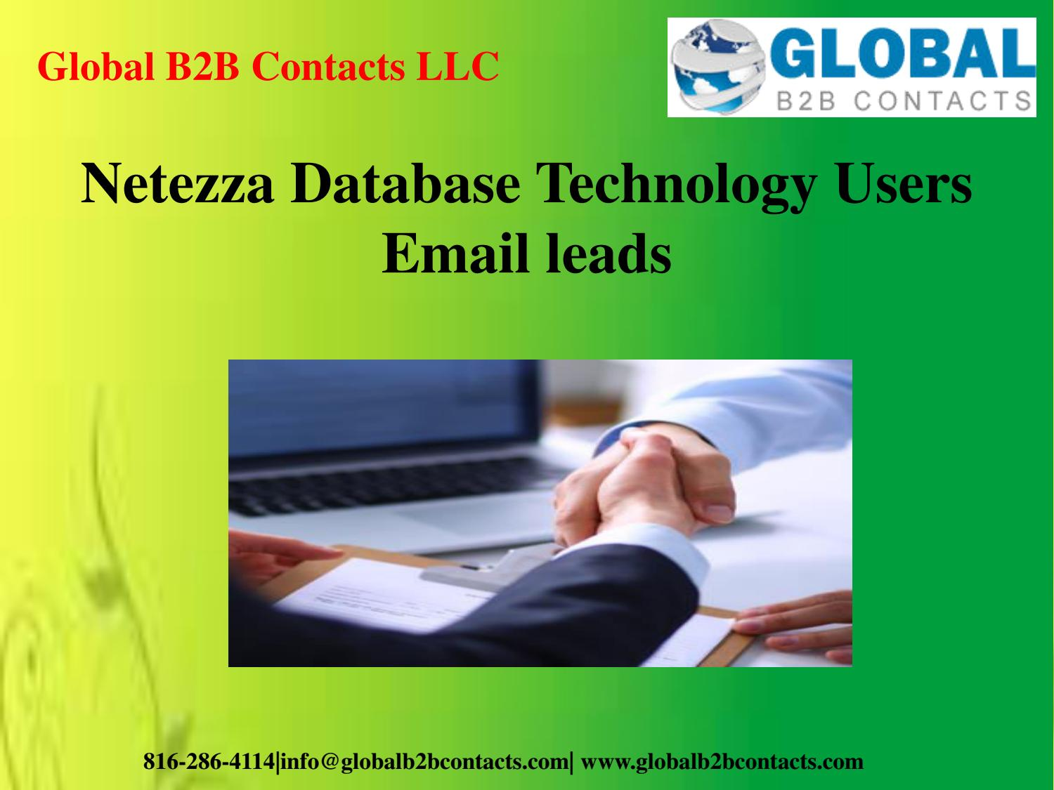 Netezza Database Technology Users Email leads by Stella Williamson - issuu