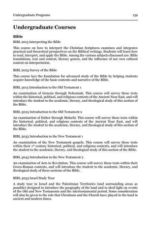 Page 143 of Undergraduate Courses