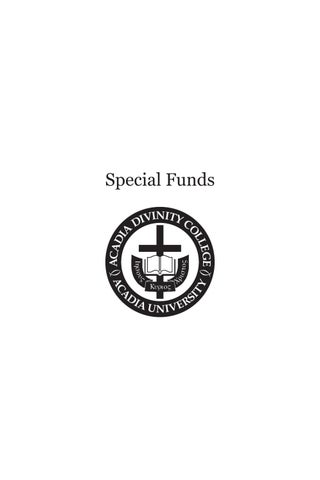 Page 181 of Special Funds