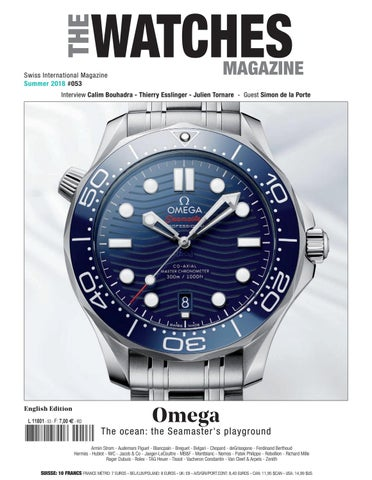 01fa9209f90a THE WATCHES MAGAZINE Summer 2018 by THE WATCHES MAGAZINE - issuu