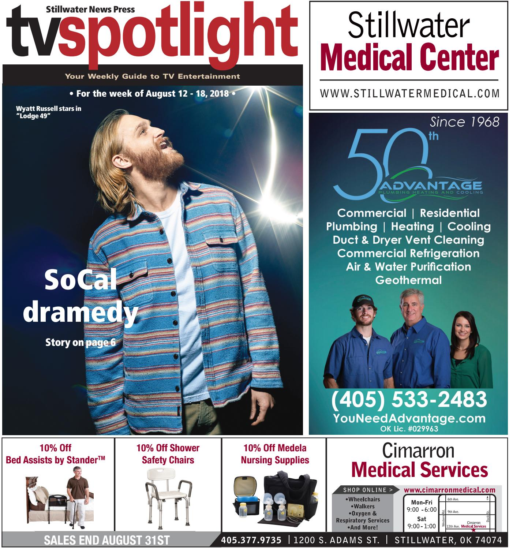TV Spotlight 08-12-18 by Stillwater News Press - issuu