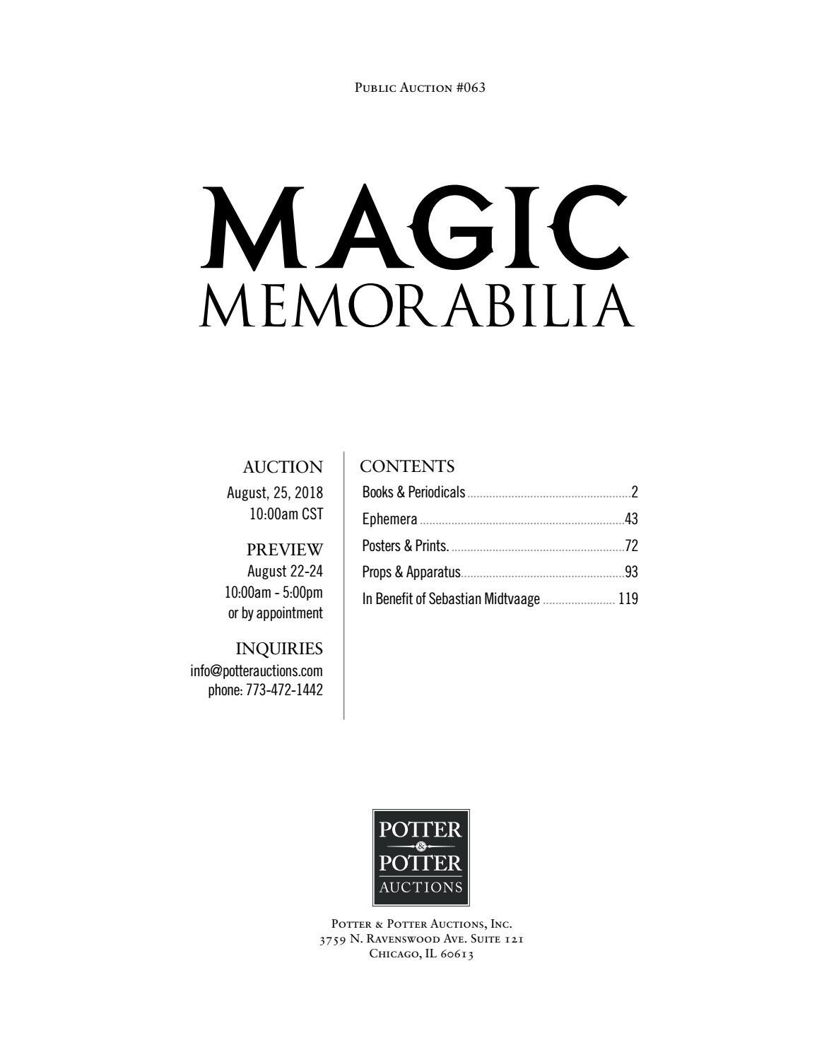 Magic Memorabilia   Vebuka.com
