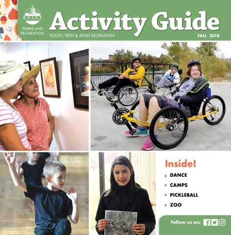 6c7b458367f3ec Boise Parks and Recreation Fall 2018 Activity Guide by Boise Parks ...