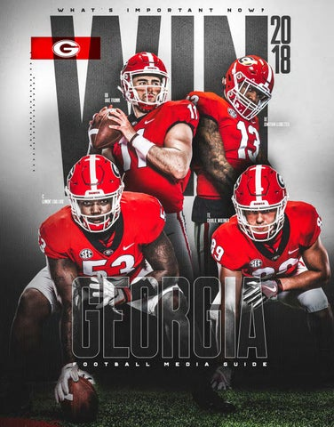 c703486b8 2018 Georgia Bulldog Football Media Guide by Georgia Bulldogs ...