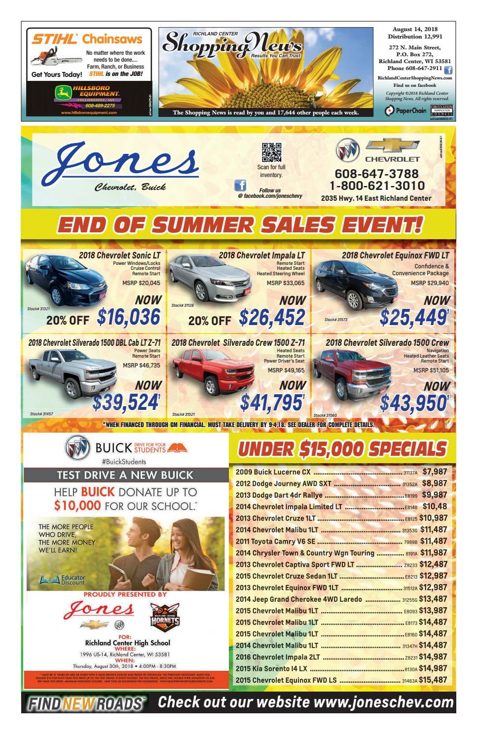 89e53c8e0 Richland Center Shopping News by Woodward Community Media - issuu