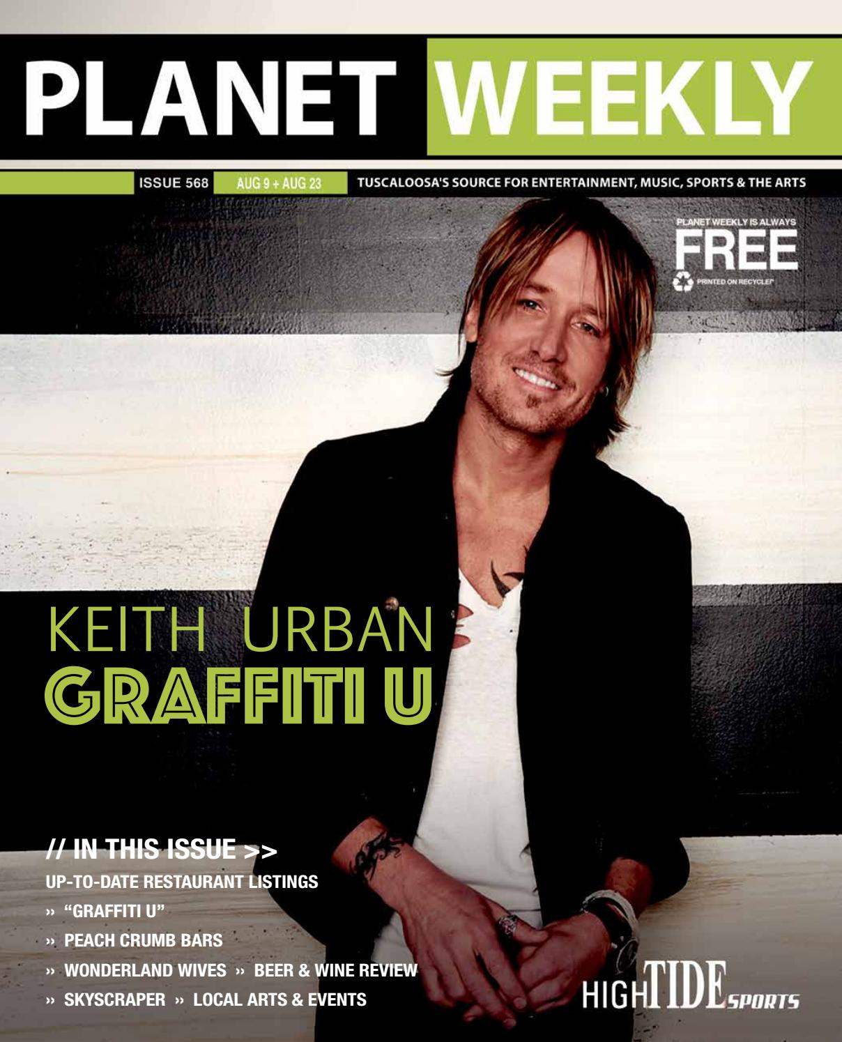 Keith urban talks about his new album with the planet weekly