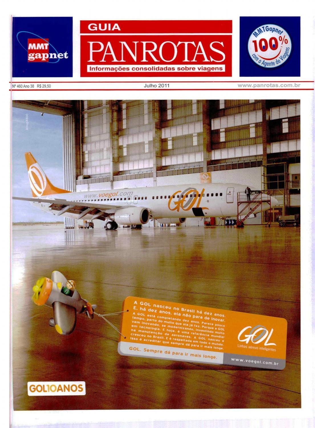8c5956d2d Guia PANROTAS - Edição 460 - Julho/2011 by PANROTAS Editora - issuu