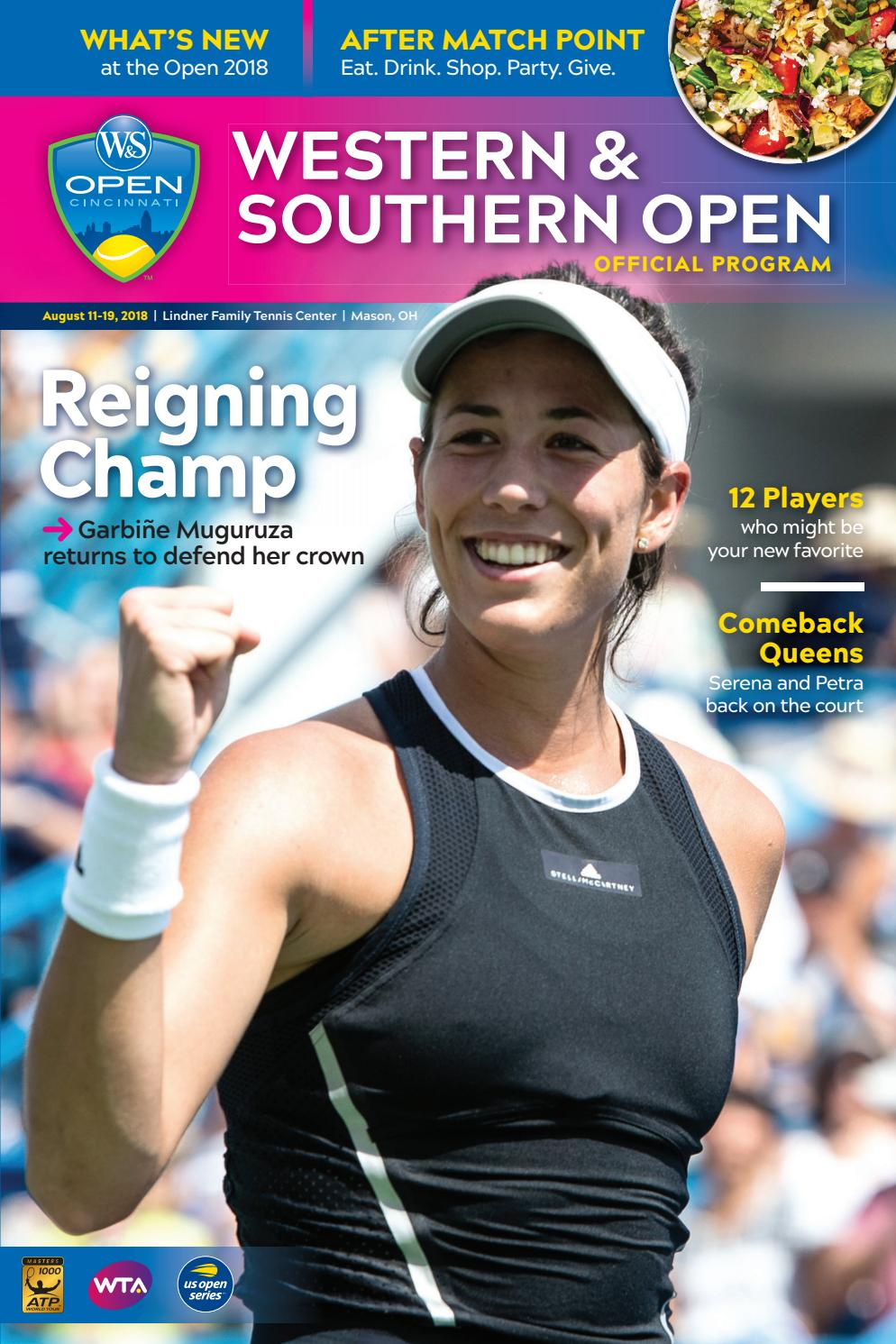 8f69ce2c63 Western   Southern Open Tennis 2018 by Cincinnati Magazine - issuu