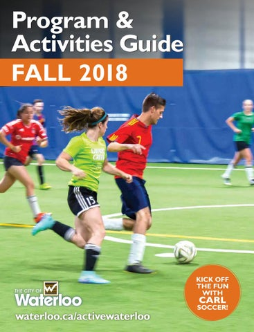Fall 2018 Program   Activities Guide by City of Waterloo - issuu 1748086a8