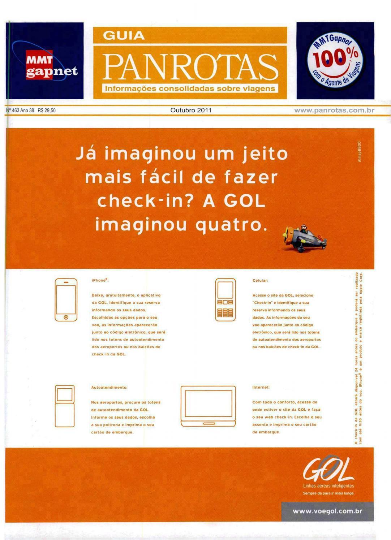 a1908e41a5d10 Guia PANROTAS - Edição 463 - Outubro 2011 by PANROTAS Editora - issuu