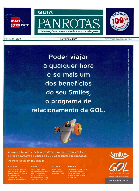 10b3c1d6a Guia PANROTAS - Edição 464 - Novembro 2011 by PANROTAS Editora - issuu