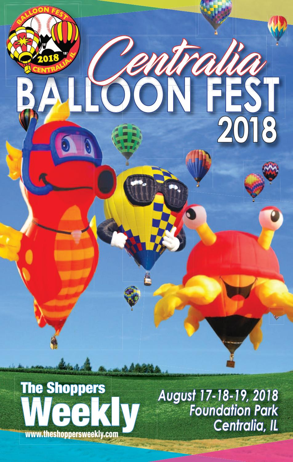 The Shoppers Weekly Centralia Balloon Fest 2018 By Scott Pinkowski Issuu