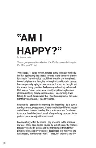 """Page 30 of """"Am I Happy?"""""""