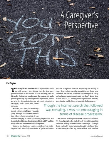 Page 18 of A Caregiver's Perspective