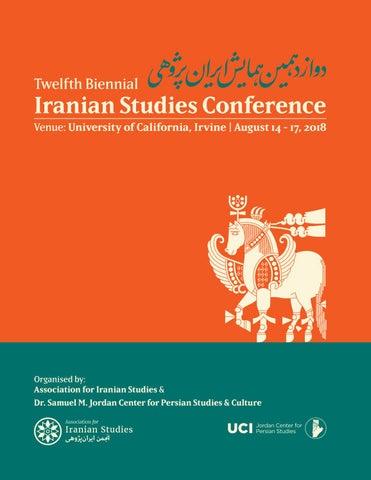 2018 Iranian Studies Conference by associationforiranianstudies - issuu