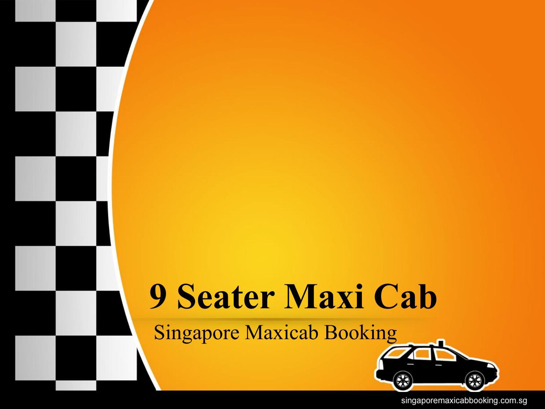 9 seater maxi cab