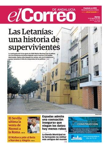 14.08.2018 El Correo de Andalucía by EL CORREO DE ANDALUCÍA S.L. - issuu 9702d16ce1211