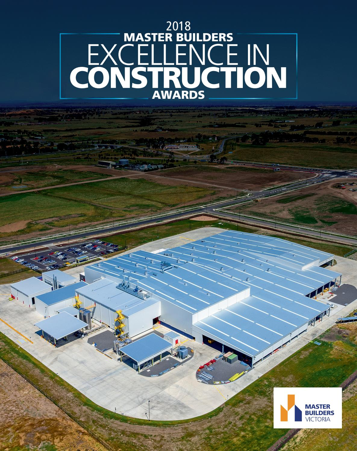 2018 Master Builders Excellence in Construction Awards by NRM Custom ...