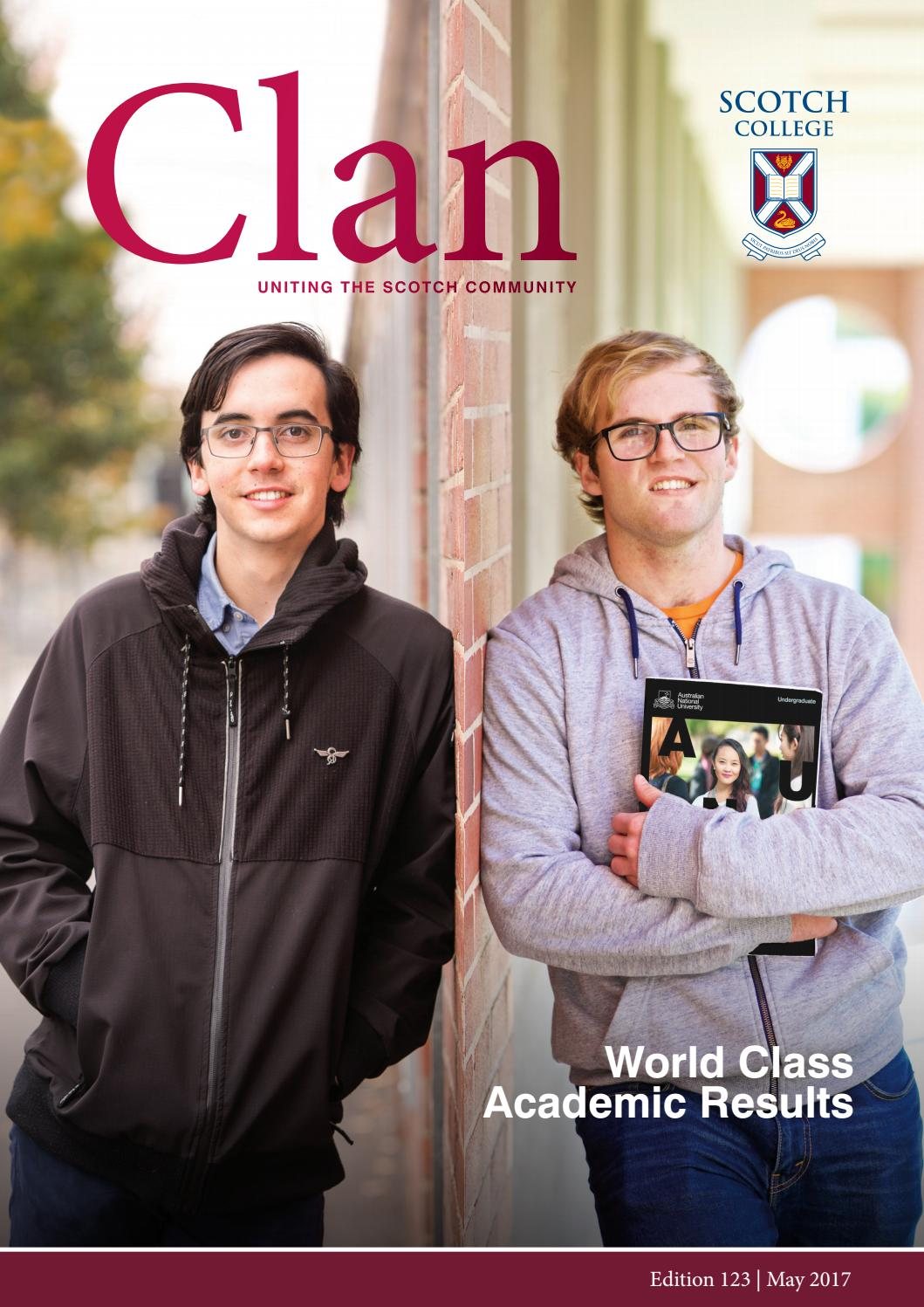 75fefbfe Clan | Edition #123 by Scotch College Perth - issuu