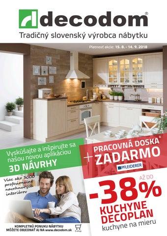 fdf5872174ee Tradičný slovenský výrobca nábytku Platnosť akcie  15. 8. - 14. 9. 2018